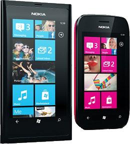Смартфоны Nokia Lumia на ОС Windows