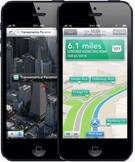 карты iphone 5