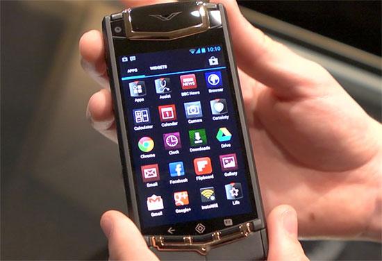 Элитный Аndroid смартфон Vertu Ti