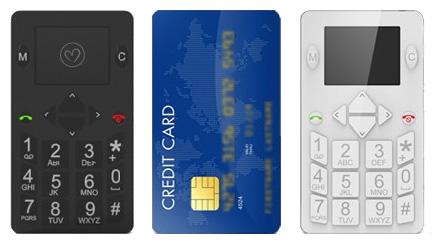 Телефон Micro-Phone размером с кредитную карту