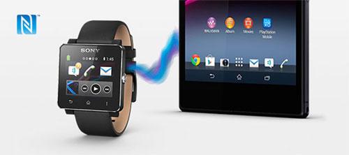 Связь SmartWatch 2 с Android по NFC