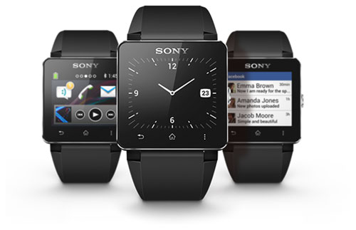 Экраны приложений для SmartWatch 2